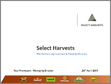 SHV PAC Partners Conference April17 ASX